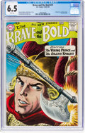Silver Age (1956-1969):Adventure, The Brave and the Bold #21 (DC, 1958) CGC FN+ 6.5 White pages....
