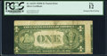 Error Notes:Miscellaneous Errors, Misaligned Back Printing Error Fr. 1613N $1 1935D Narrow Silver Certificate. PCGS Fine 12.. ...
