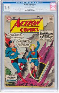 Action Comics #252 (DC, 1959) CGC FR/GD 1.5 Cream to off-white pages