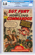 Silver Age (1956-1969):War, Sgt. Fury and His Howling Commandos #1 (Marvel, 1963) CGC GD/VG 3.0 Off-white pages....