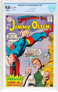 Superman's Pal Jimmy Olsen #109 (DC, 1968) CBCS NM/MT 9.8 White pages