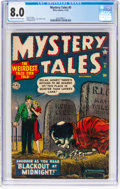 Golden Age (1938-1955):Horror, Mystery Tales #5 (Atlas, 1952) CGC VF 8.0 Cream to off-white pages....