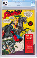 Golden Age (1938-1955):Crime, Shadow Comics V2#9 (Street & Smith, 1942) CGC VF/NM 9.0 Off-white to white pages....