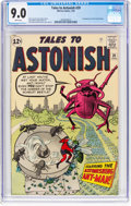Silver Age (1956-1969):Superhero, Tales to Astonish #39 (Marvel, 1963) CGC VF/NM 9.0 White pages....