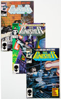Modern Age (1980-Present):Superhero, Punisher-Related Group of 5 (Marvel, 1986-88).... (Total: 5 Comic Books)