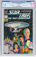 Modern Age (1980-Present):Science Fiction, Star Trek: The Next Generation #1 (DC, 1989) CGC NM/MT 9.8 Whitepages....