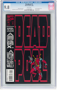 Deadpool: The Circle Chase #1 (Marvel, 1993) CGC NM/MT 9.8 White pages