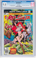 Bronze Age (1970-1979):Miscellaneous, Red Sonja #1 (Marvel, 1977) CGC NM/MT 9.8 White pages....