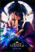 "Movie Posters:Fantasy, Doctor Strange (Walt Disney Studios, 2016). Rolled, Very Fine+. One Sheet (27"" X 40"") DS, Advance. Fantasy...."
