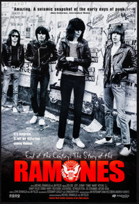 "End of the Century: The Story of the Ramones (Magnolia Pictures, 2003). Rolled, Very Fine+. One Sheet (27"" X 40&quo..."