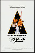 "Movie Posters:Science Fiction, A Clockwork Orange (Warner Brothers, 1971). Flat Folded, Very Fine-. International One Sheet (27"" X 41""). Philip Castle Artw..."