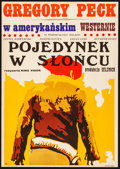 """Movie Posters:Western, Duel in the Sun (United Artists, 1970). Rolled, Very Fine-. First Release Polish One Sheet (22.75"""" X 32.5"""") Jakub Erol Artwo..."""