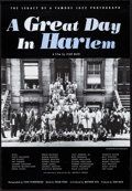 "Movie Posters:Documentary, A Great Day in Harlem (Castle Hill, 1994). Rolled, Very Fine+. One Sheet (26.75"" X 39"") SS. Documentary...."