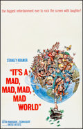 "Movie Posters:Comedy, It's a Mad, Mad, Mad, Mad World (United Artists, 1963) Fine/VeryFine on Linen. One Sheet (27"" X 41"") Style A. Jack Davis Ar..."