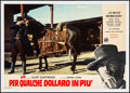 "Movie Posters:Western, For a Few Dollars More (PEA, 1965). Very Fine- on Linen. Italian Photobusta (26.25"" X 18.5""). Western...."