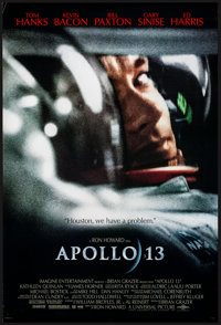 "Apollo 13 (Universal, 1995). Rolled, Very Fine+. One Sheet (26.75"" X 39.75"") DS. Drama"