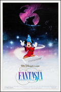 """Movie Posters:Animation, Fantasia (Buena Vista, R-1990). Rolled, Very Fine. 50th Anniversary One Sheet (27"""" X 41"""") DS, Barry E. Jackson Artwork. Anim..."""