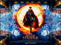"Movie Posters:Fantasy, Doctor Strange (Walt Disney Studios, 2016). Rolled, Very Fine-. British Quad (30"" X 40"") DS, Advance. Fantasy...."