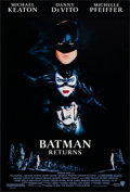 "Movie Posters:Action, Batman Returns (Warner Brothers, 1992). Rolled, Very Fine+. One Sheet (27"" X 40"") SS. John Alvin Artwork. Action...."