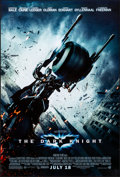 """Movie Posters:Action, The Dark Knight (Warner Brothers, 2008). Rolled, Very Fine-. One Sheet (27"""" X 40"""") DS, Advance, """"Batpod"""" Style. Action...."""