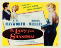 """Movie Posters:Film Noir, The Lady from Shanghai (Columbia, 1947). Fine/Very Fine on Paper.Half Sheet (22"""" X 28"""") Style B.. ..."""