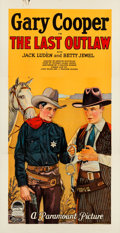 """Movie Posters:Western, The Last Outlaw (Paramount, 1927). Folded, Very Fine-. Three Sheet (41"""" X 79.25"""").. ..."""