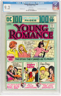 Young Romance #197 (DC, 1974) CGC NM- 9.2 White pages