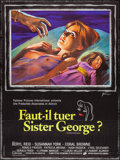 "Movie Posters:Drama, The Killing of Sister George (20th Century Fox, 1971). Folded, Very Fine. First Release Full-Bleed French Grande (46"" X 61.5..."