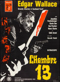 "Movie Posters:Foreign, Room 13 (SNC, 1965). Folded, Very Fine-. Full-Bleed French Grande (45.25"" X 61.5""). Foreign...."