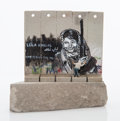 Collectible:Contemporary, Banksy X The Walled Off Hotel. Souvenir Wall Section, 2017. Painted cast resin with concrete. 5-1/4 x 5 x 3-1/2 inches (...