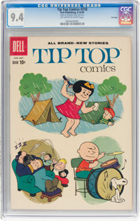 Tip Top Comics #218 File Copy (Dell, 1959) CGC NM 9.4 Off-white to white pages