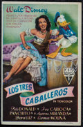 "Movie Posters:Animation, The Three Caballeros (RKO, 1947) Very Fine-. First Release SpanishHeralds (2) (3.5"" X 5.25""). Animation.... (Total: 2 Items)"