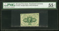 Fractional Currency:First Issue, Fr. 1242 10¢ First Issue PMG About Uncirculated 55 EPQ.. ...