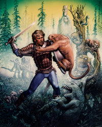 Richard Corben Forest of Doom Signed Limited Edition Print #25/200 (c. 1983)