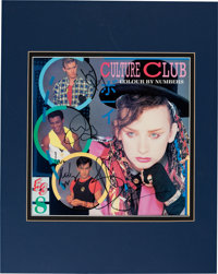 Culture Club Signed Colour By Numbers Vinyl LP