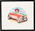 Music Memorabilia:Original Art, Grateful Dead Original Art Signed by Stanley Mouse (1988). ...