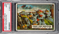 Non-Sport Cards:Singles (Post-1950), 1962 Topps Civil War News - Fight For Survival #33 PSA Mint 9 - None Higher. ...
