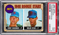 Baseball Cards:Singles (1960-1969), 1968 Topps Nolan Ryan - Mets Rookies #177 PSA Mint 9 - Only One Higher. ...