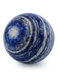 Lapidary Art:Eggs and Spheres, Lapis Sphere. Afghanistan. 3.50 inches (8.89 cm) indiameter. ...