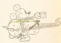 Animation Art:Production Drawing, Mickey's Good Deed Mickey Mouse Animation Drawing (Walt Disney, 1932)....