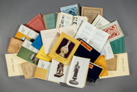 A Group of Twenty-Six Chinese Art and Auction Reference Books 12-7/8 inches (32.7 cm) (tallest)  PROPERTY FR