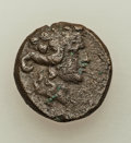 Ancients:Ancient Lots  , Ancients: ANCIENT LOTS. Thrace. Ca. 3rd-1st centuries BC. Lot oftwo (2) AE issues. About VF.... (Total: 2 coins)