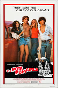 "The Pom Pom Girls & Other Lot (Crown International, 1976). Folded, Very Fine-. One Sheets (2) (27"" X 41"")..."