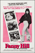 """Movie Posters:Sexploitation, Fanny Hill & Other Lot (Cinemation Industries, 1969) Folded,Very Fine-. One Sheets (2) (27"""" X 41""""). Sexploitation.... (Total: 2Items)"""