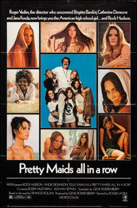 "Pretty Maids All in a Row & Other Lot (MGM, 1971). Folded, Very Fine-. One Sheets (2) (27"" X 41""). Comedy..."
