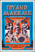 """Movie Posters:Adult, Try and Make Me & Other Lot (Distribpix, c.1970s). Folded, Fine/Very Fine. One Sheets (2) (27"""" X 41""""). Adult.... (Total: 2 Items)"""