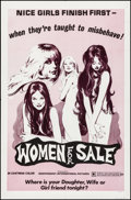 """Movie Posters:Sexploitation, Women for Sale & Other Lot (Independent International Pictures,1975). Folded, Overall: Very Fine-. One Sheets (2) (27"""" X 41...(Total: 2 Items)"""