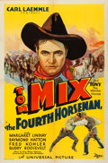 Movie Posters:Western, The Fourth Horseman (Universal, 1932). Folded, Very Fine-....