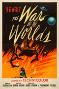 "Movie Posters:Science Fiction, The War of the Worlds (Paramount, 1953). Folded, Fine+. One Sheet(27"" X 41"").. ..."