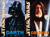 """The Star Wars Trilogy (20th Century Fox, R-1997) Fine+. Theater Displays (5) (24"""" X 36""""). Science Fiction..."""